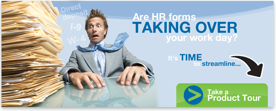 Are HR forms taking over your work day? It's time to streamline.... Ask for a live demo or take a product tour today